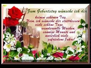 Geburtstagsbilder Zum 60 : geburtstag w nsche youtube ~ Buech-reservation.com Haus und Dekorationen