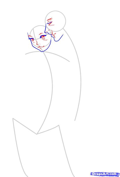 anime couple draw how to draw an anime couple step by step anime people