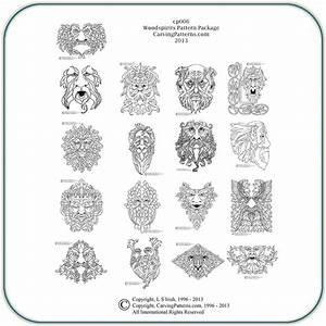 Wood Spirit Patterns – Classic Carving Patterns