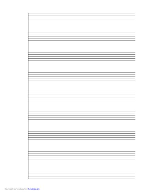 Sheet music free topics about business forms contracts. Manuscript Paper - 118 Free Templates in PDF, Word, Excel Download