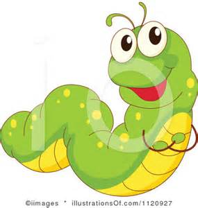 Cartoon Caterpillar Clip Art