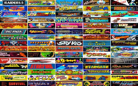 Play Over 900 Classic Arcade Games In Your Browser For