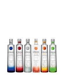 simon pearce gifts cîroc collection 6 bottles cîroc vodka buy online