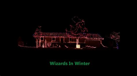 2011 huber s light display wizards in winter