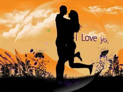 Couple Hugging Loving Greeting