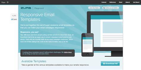 zurb email templates responsive email la baia web