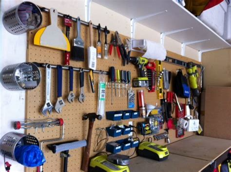Organize The Tools In Your Garage With Inexpensive And