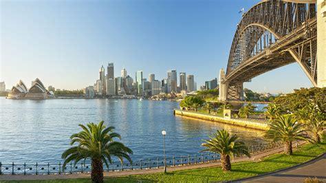 Sydney Harbour Bridge Landscape Wallpaper  Hd Wallpapers