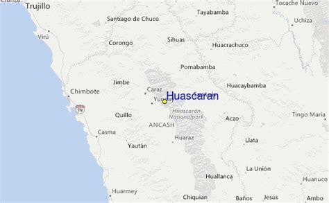 huascaran ski resort guide location map huascaran ski