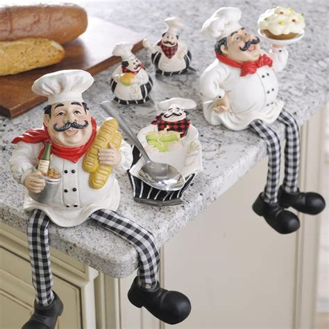 chef kitchen decor ideas  pinterest fat