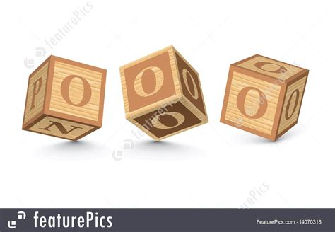 wooden block letters vector letter o wooden alphabet blocks 15580