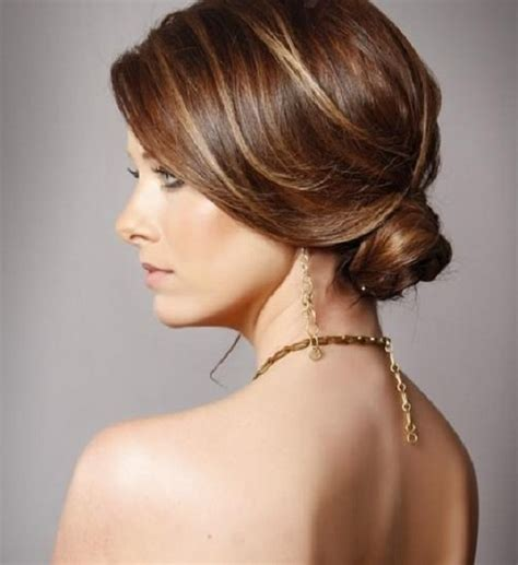 hair in a bun styles easy updo s that you can wear to work hairstyles 4329