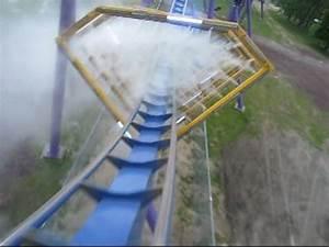 Bizarro Front Seat on-ride POV Six Flags Great Adventure ...