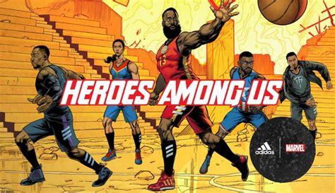 koleksi limited edition adidas basketball  marvel