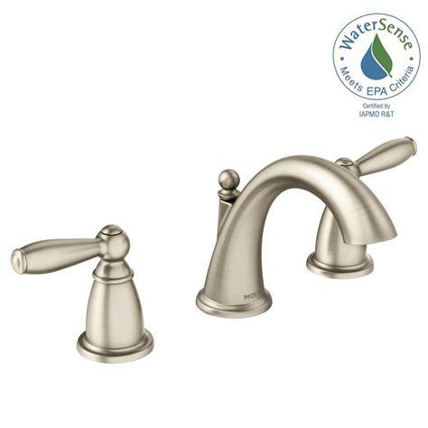 moen brantford   widespread  handle high arc bathroom