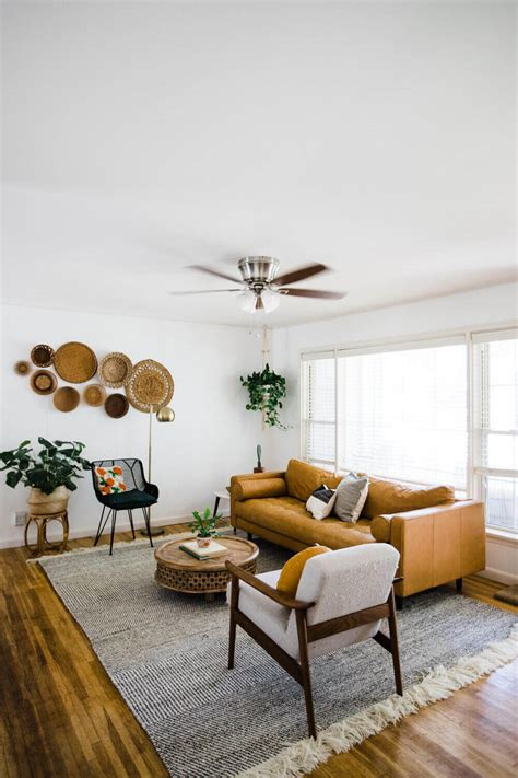 earthy modern interior design  living room