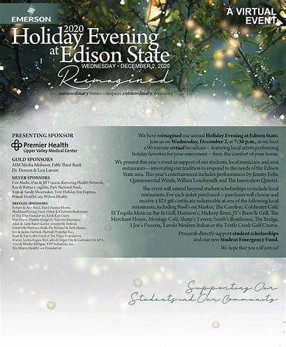 Edison Evening Holiday State Purchasing Ticket Open