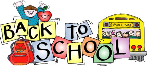 back to school clipart welcome back to school clipart cliparts