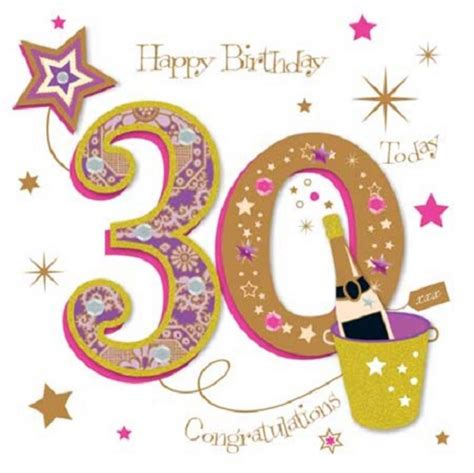 Happy 30th Birthday Images Happy 30th Birthday Greeting Card By Talking Pictures Cards