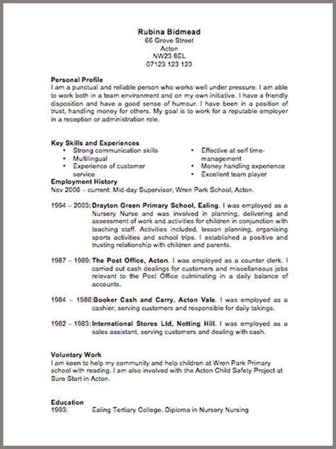 cv template  downloadable resume template cv template