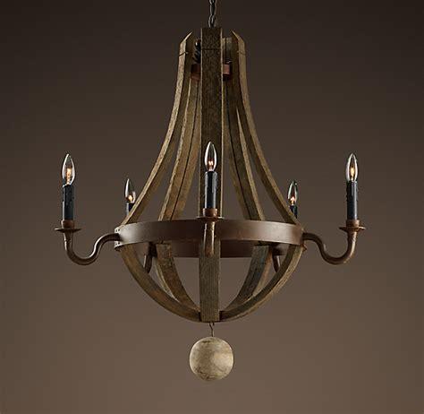 barrel chandelier lighting wine barrel chandelier 31 quot