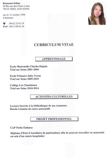 bac pro cuisine bordeaux resume cover letter exles for relocation resume cover