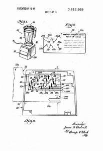 Patent Us3612969 - Automatic Blender