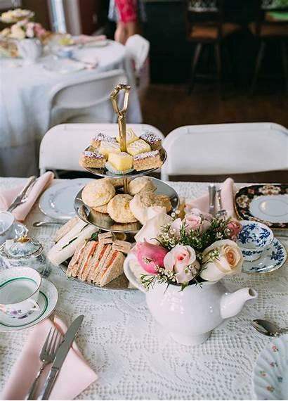 Tea Bridal Shower Theme Niagara Oakville Elegant