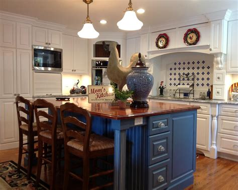 country side kitchen bright country kitchen features beautiful blue 2961