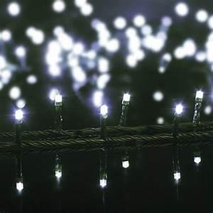 Guirlande Photo Lumineuse : guirlande lumineuse 30 m blanc froid 500 led cv ~ Teatrodelosmanantiales.com Idées de Décoration