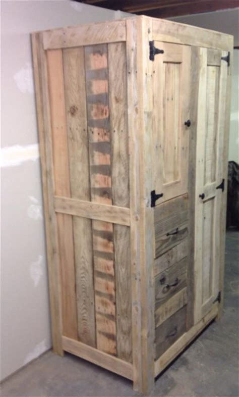 plan kitchen wall unit built  pallets google search