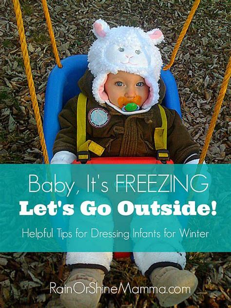 Baby It's Freezing  Let's Go Outside  Cold Weather, Lets Go And Babies