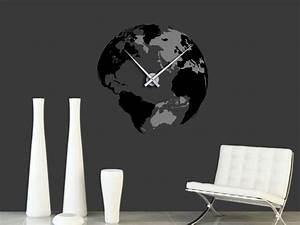 Wandtattoo Weltkarte Uhr : wandtattoo 3d globus reuniecollegenoetsele ~ Sanjose-hotels-ca.com Haus und Dekorationen