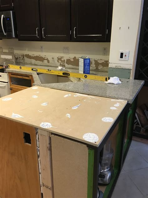 kitchen creates  barrier  protect  natural stone