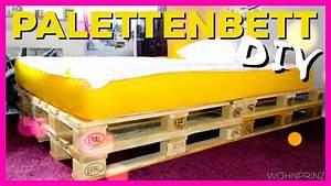 Matratze Für Palettenbett : diy palettenbett mit eve matratze wohnprinz youtube ~ Eleganceandgraceweddings.com Haus und Dekorationen