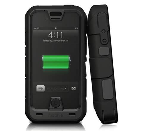 mophie iphone 4 mophie gets tough with juice pack pro iphone 4 4s cnet