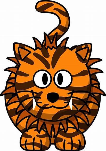 Clipart Lion Liger Cartoon Tiger Cat Clip