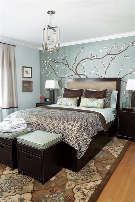 Blue And Brown Bedroom Ideas by Bedroom Decorating Ideas With Grey Walls Grey Robin