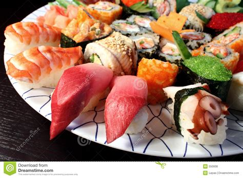 cuisine japonais japanese food royalty free stock photos image 550938