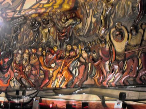 David Alfaro Siqueiros Murals by Panoramio Photo Of Mural Poliforum David Alfaro Siqueiros