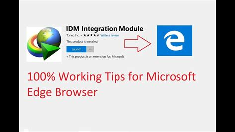 Anyone easily can add an idm extension in microsoft edge browser. How to add IDM extension in Microsoft Edge 2019 - YouTube