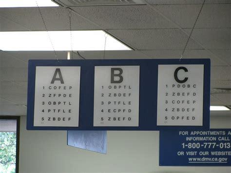 california dmv eye test chart website  ribujena