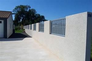 Prix Mur Parpaing Cloture : devis mur de cl ture mon ~ Dailycaller-alerts.com Idées de Décoration