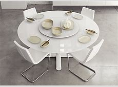 Surfer Round Dining Table Contemporary Round Dining