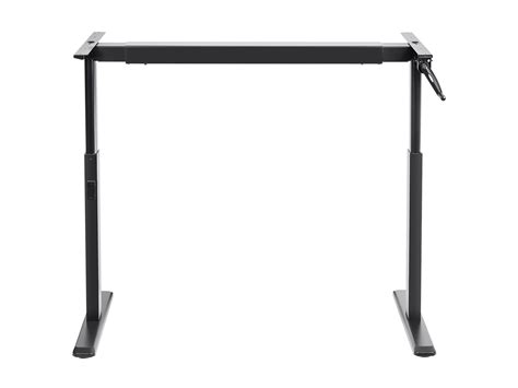 height adjustable sit stand desk monoprice sit stand height adjustable desk frame