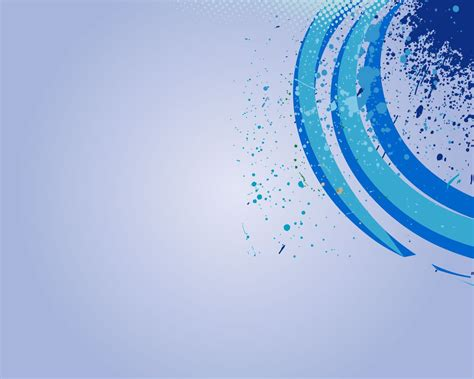 blue  white  circle powerpoint background