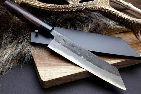 knife japanese carbon kiritsuke yoshihiro steel knives sword forged chef kitchen cutlery kurouchi shitan multipurpose nuri mizu yaki sushi lacquered