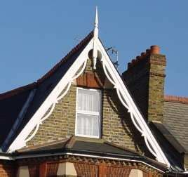 mid victorian gable  cottage cottage windows dormer