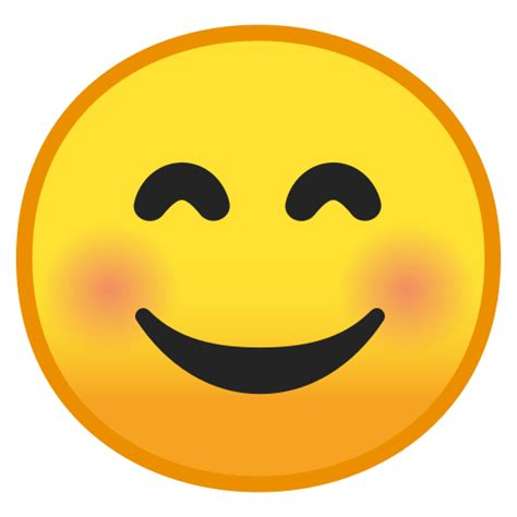 feliz  ojos sonrientes emoji