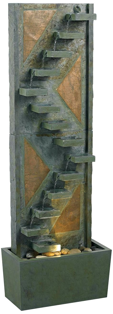 pin  carey stringer  man cave indoor water fountains